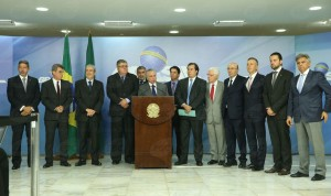 Brasília - O presidente Michel Temer fala sobre as alterações na proposta da reforma da Previdência (Valter Campanato/Agência Brasil)